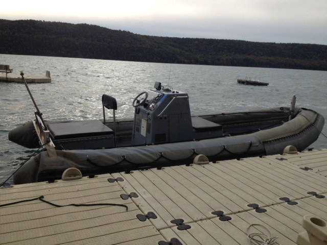 Navy Rigid Inflatable Boat for sale, cooperstown NY, milford NY
